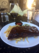 BBQ Spare Ribs with Krassen Big Mouth Syrah