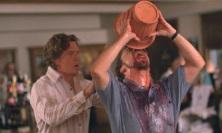 Paul Giamatt Drinking Spit Bucket
