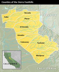 AVA County Map