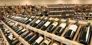 Wine Store Shelves