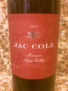 Jac Cole Mosaico Napa Valley 2014