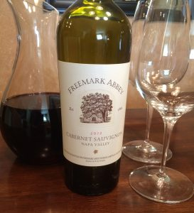 Freemark Abbey Cabernet 2012