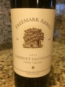 Freemark Abbey Cabernet Sauvignon 2012