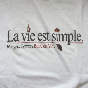 La vie est simple