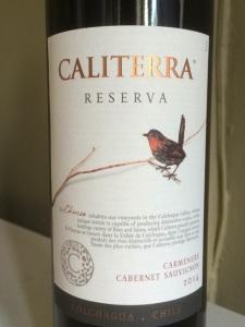Caliterra Carmenere Cabernet Sauvignon