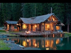 Lakeside Mountain Cabin