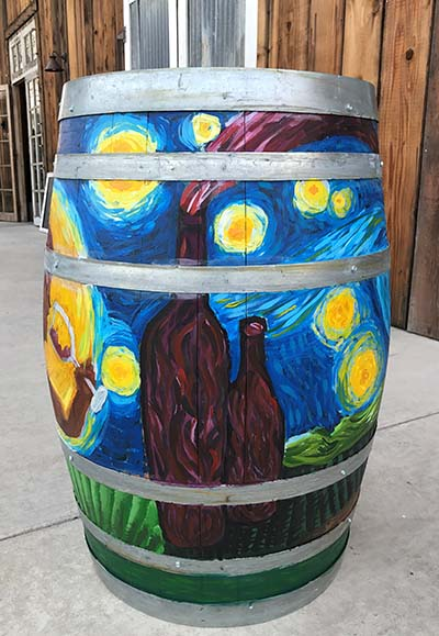 Painted Barrel