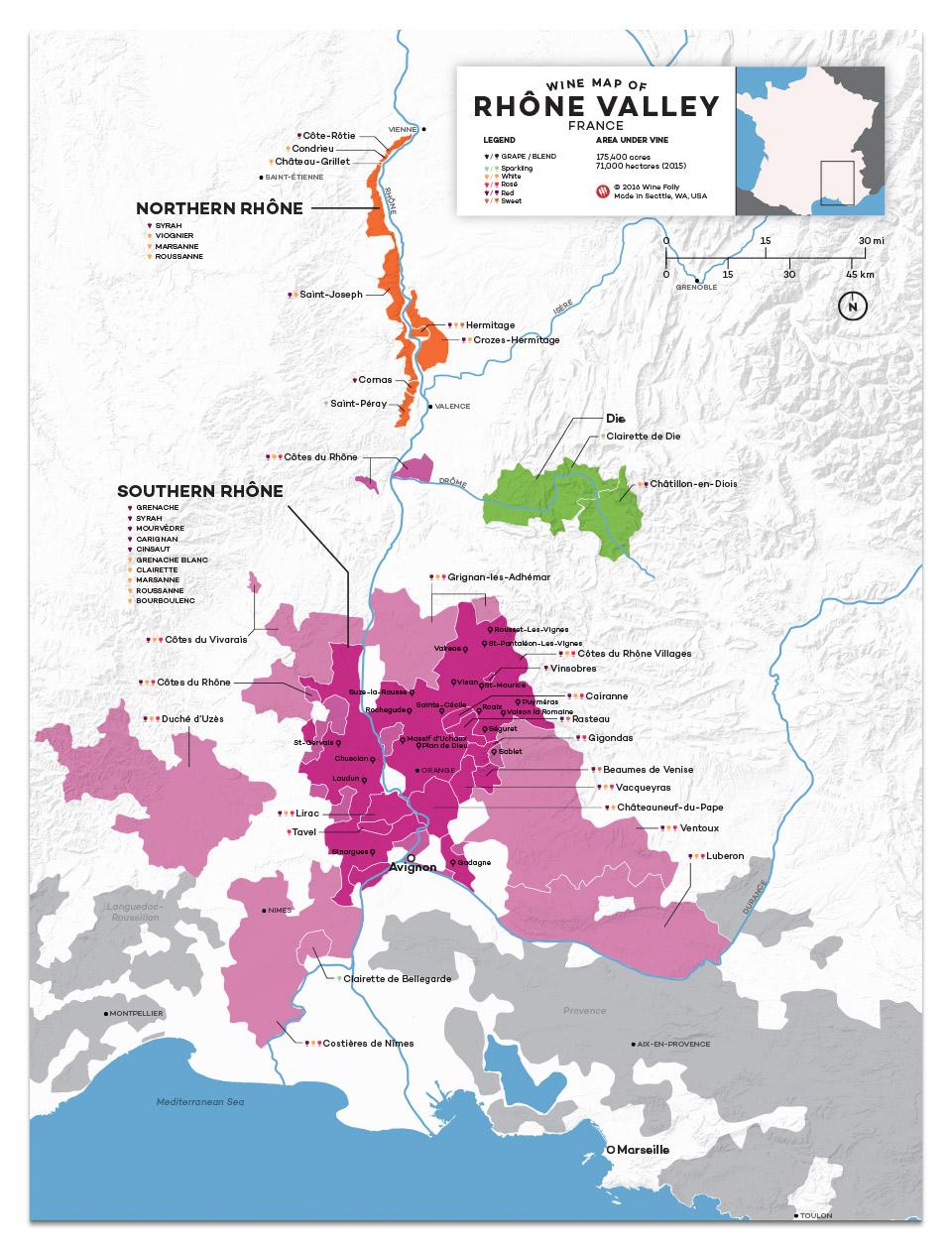 12x16-France-Rhone-wine-map2