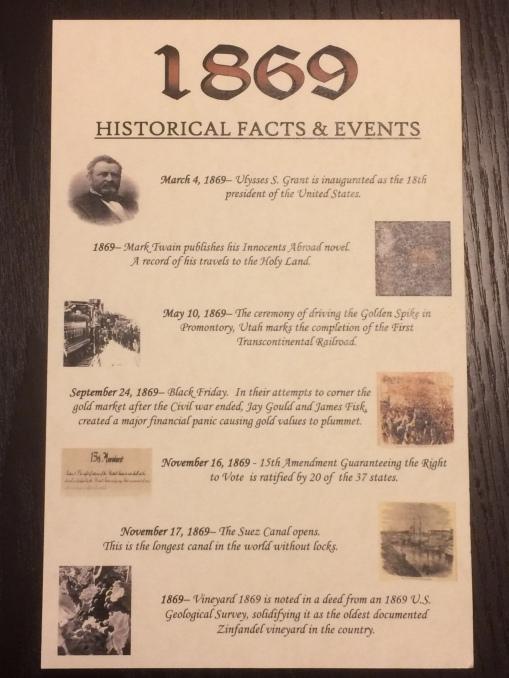 10 1869 History